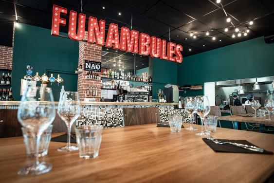 Photo de Les Funambules, membre de Bout à Bout, réseau de réemploi des bouteilles en verre en Pays de la Loire