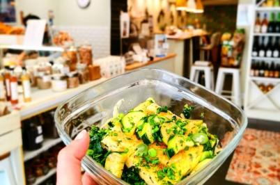 Epicerie Mangi utilise Les boites Nomades pour vos plats à emporter Zéro Déchet