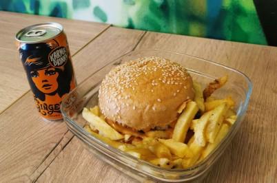 Portland burgers utilise Les boites Nomades pour vos plats à emporter Zéro Déchet